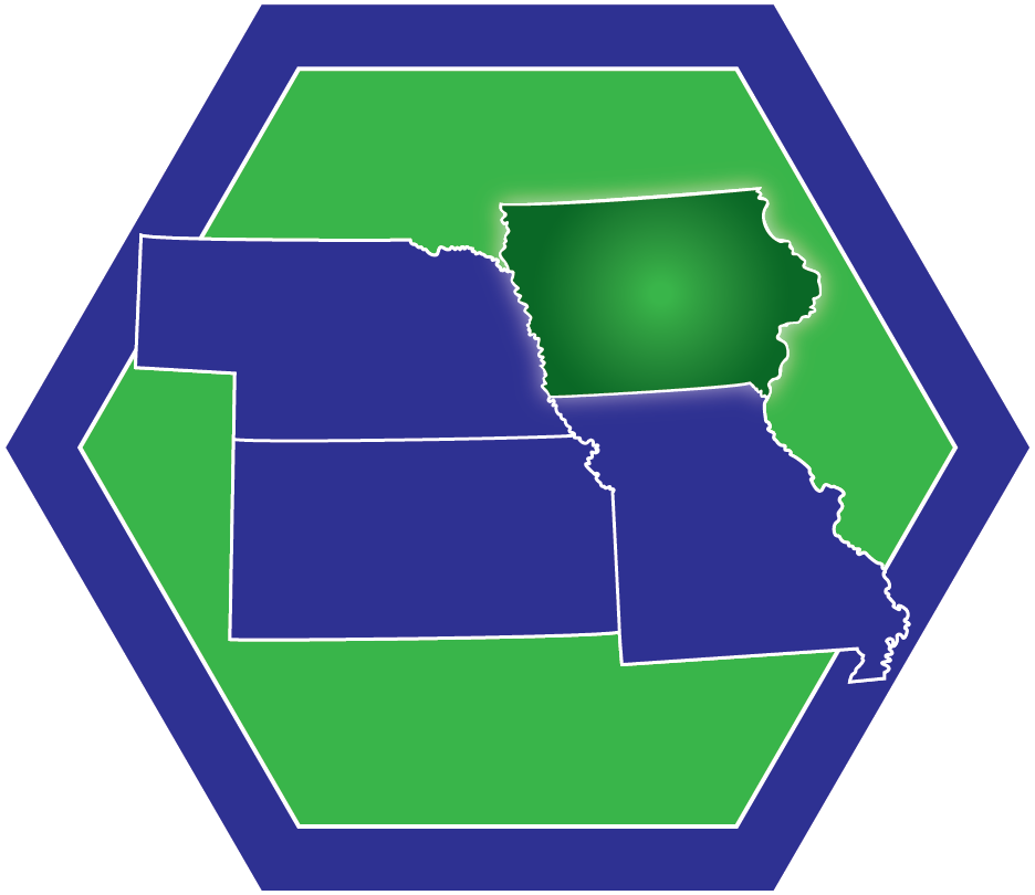 HSRN logo with Missouri highlighted