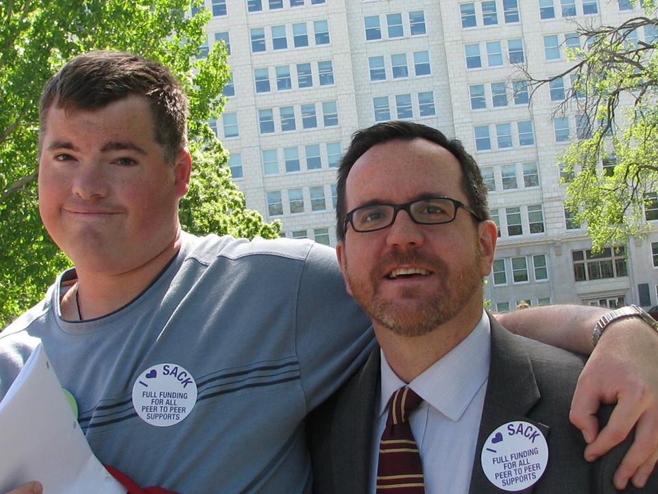 Self-Advocate Coalition of Kansas member and supporter